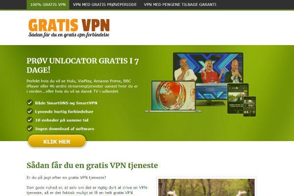 Statisk forside på WordPress - Gratis VPN